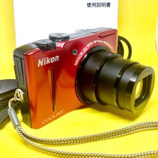 ニコン(Nikon)のNIKON COOLPIX S8100 光学10倍ズーム×電子ズーム4倍(コンパクトデジタルカメラ)