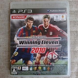 プレイステーション3(PlayStation3)のPS3  WinningEleven2010(家庭用ゲームソフト)