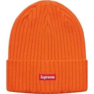 Supreme - Supreme Overdyed Ribbed Beanie オレンジ