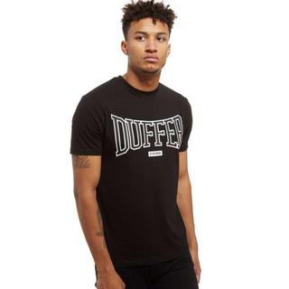 ザダファーオブセントジョージ(The DUFFER of ST.GEORGE)のダファー ブラック ロゴ T シャツ(Tシャツ/カットソー(半袖/袖なし))