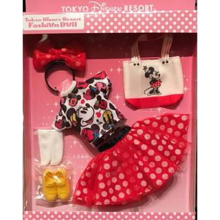 ディズニー(Disney)の新品 ディズニー ファッションドール リカちゃん人形 着せかえ ミニー(ぬいぐるみ/人形)
