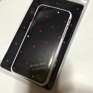 バーバリーブルーレーベル(BURBERRY BLUE LABEL)のBLUELABEL iPhoneケース ハート(iPhoneケース)