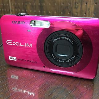 CASIO EXILIM デジカメ ピンク(コンパクトデジタルカメラ)