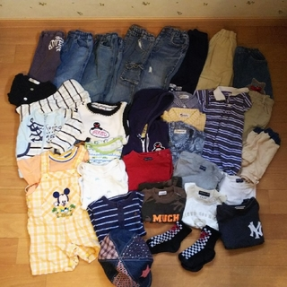 ベビーギャップ(babyGAP)のまとめ売り 子供服 男の子 gapあり 90(Tシャツ/カットソー)