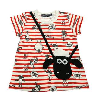 リトルベアークラブ(LITTLE BEAR CLUB)のひつじのショーンチェニック90(Tシャツ/カットソー)