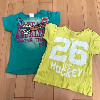 ジャンクストアー(JUNK STORE)のTシャツ 2枚セット 95(Tシャツ/カットソー)