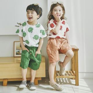 韓国子供服 セット Tシャツとパンツ 80/90(Tシャツ/カットソー)