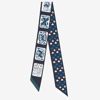 エルメス(Hermes)の✨新品未使用✨エルメス トランプ ツイリー スカーフ hermes(バンダナ/スカーフ)