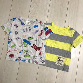 ザラキッズ(ZARA KIDS)のキッズ Tシャツ 二枚セット(Tシャツ/カットソー)