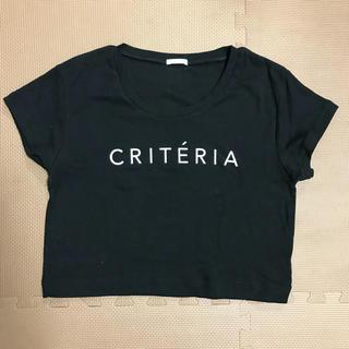 リゼクシー(RESEXXY)のRESEXXY criteriaTシャツ(Tシャツ(半袖/袖なし))