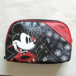 ディズニー(Disney)のヴァンパイア ミッキー レザーポーチ(ポーチ)