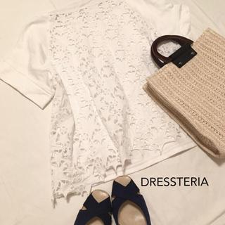 ドレステリア(DRESSTERIOR)の美品♩ドレステリア ロックスターレースTシャツ(カットソー(半袖/袖なし))
