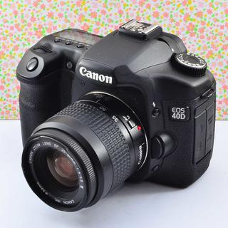 ✨しっかり美しいフォルム&簡単操作✨キャノン EOS 40D(デジタル一眼)