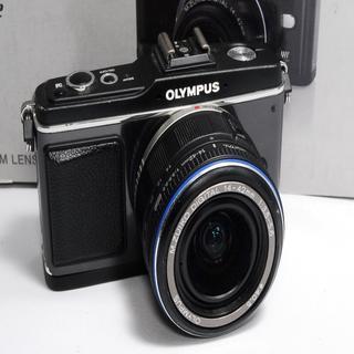 オリンパス(OLYMPUS)の★WifiSD対応 カメラ入門★オリンパスE-P2レンズキット(ミラーレス一眼)
