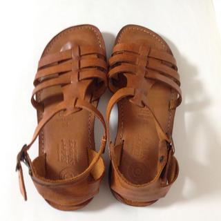 【Eder Shoes  エダーシューズ】イタリア製 レザーサンダル(サンダル)