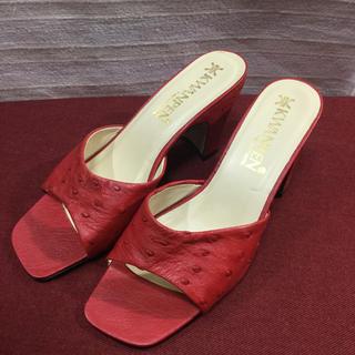 オーストリッチ(OSTRICH)のKWANPEN クワンペン オーストリッチ 靴 正規品(ローファー/革靴)