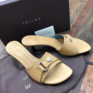 セリーヌ(celine)のセリーヌのサンダル 新品未使用 37(24cm) ルブタンマルニ好きの方も(サンダル)