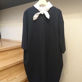 リボン付き ◯ つけ襟 ◯ ホワイト ◯(つけ襟)