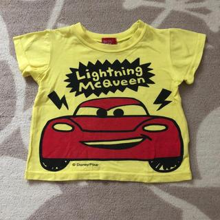 ディズニー(Disney)の《80》 マックイーン 半袖 黄色Tシャツ(Tシャツ)