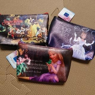 ディズニー(Disney)のポーチ ディズニー プリンセス ラプンツェル 白雪姫 シンデレラ(ポーチ)