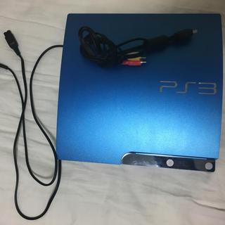 プレイステーション3(PlayStation3)の美品 PS3 本体 320GB (限定色)(家庭用ゲーム本体)