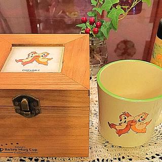 ディズニー(Disney)のCHIP&DALE.  Retro Mug Cup.      ♥️(グラス/カップ)