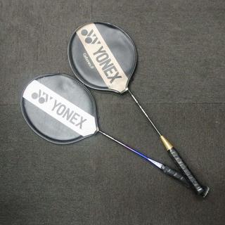 ヨネックス(YONEX)のYONEX バトミントンラケット 2本 Carbonex9/NEWSCARBO2(バドミントン)