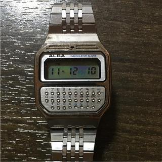 アルバ(ALBA)のしんしん。様専用 ALBA  CALCULATOR ALARM(腕時計(デジタル))