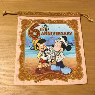 ディズニー(Disney)の71番 東京ディズニーシー 6周年 巾着(ポーチ)