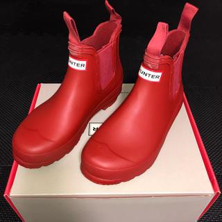 ハンター(HUNTER)のハンター(HUNTER) レディース レインブーツ (ミリタリーレッド) (レインブーツ/長靴)