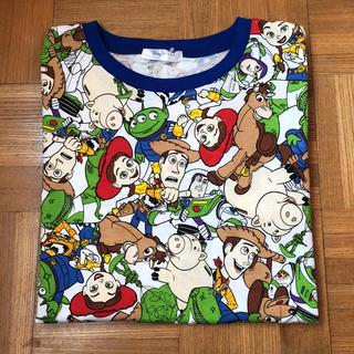 ディズニー(Disney)の新品 トイストーリー 総柄 Tシャツ ディズニー ピクサー サイズM(キャラクターグッズ)