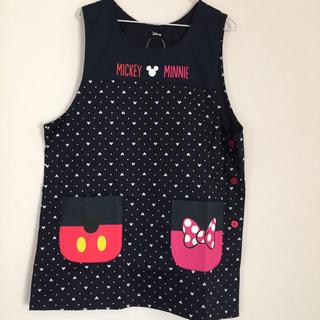 ディズニー(Disney)の【新品タグ付】ミッキー  ミニー エプロン ポケット(その他)