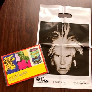 アンディウォーホル(Andy Warhol)の【新品未使用】アンディーウォーホル ✳︎メモパッド ✳︎付箋(ノート/メモ帳/ふせん)