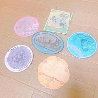 ディズニー(Disney)のディズニーアート展 限定 シール ステッカー(キャラクターグッズ)