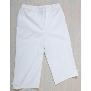 トゥービーシック(TO BE CHIC)の極美品 TOBECHIC  七分丈 パンツ 大きいサイズ 44(カジュアルパンツ)