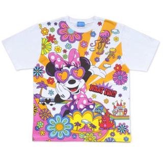 ディズニー(Disney)のディズニー リゾート 35周年 ミニー Tシャツ 3L ハッピーな気分に TDR(キャラクターグッズ)