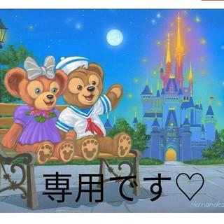 ディズニー(Disney)のダッフィー♡シェリーメイマグネット(キャラクターグッズ)