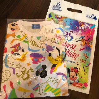 ディズニー(Disney)のディズニー★35周年Tシャツ★M(Tシャツ(半袖/袖なし))