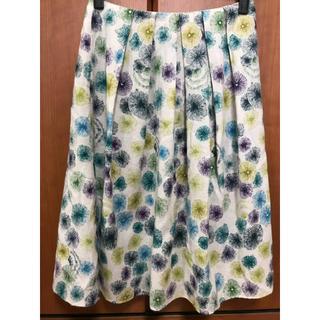 シビラ(Sybilla)のシビラ レディース 花柄スカート(ひざ丈スカート)