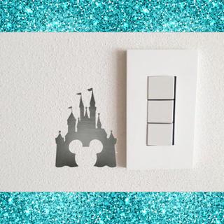 ディズニー(Disney)の人気商品♡シンデレラ城♡スイッチステッカー(その他)