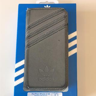 アディダス(adidas)のアディダス iPhone6s/iPhone6 手帳型 レザーケース(iPhoneケース)