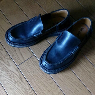 ズッカ(ZUCCa)のズッカ ローファー 黒(ローファー/革靴)
