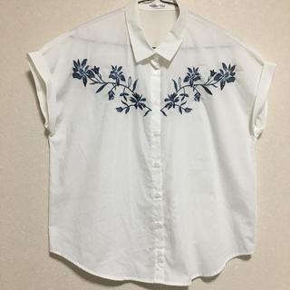 しまむら - ◎ 刺繍 シャツ
