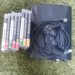 プレイステーション3(PlayStation3)のps3本体とコントローラー(ソフト付き)(家庭用ゲーム本体)