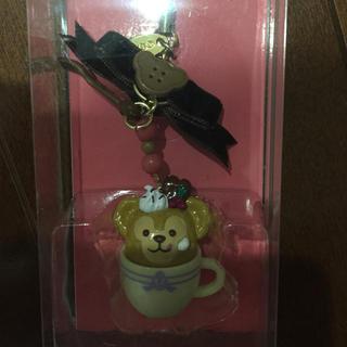 ディズニー(Disney)の激レア☆新品未使用☆ダッフィー ストラップ(キャラクターグッズ)