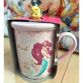 ディズニー(Disney)の東京ディズニーシー アリエル 蓋つきマグ(グラス/カップ)