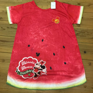 ディズニー(Disney)のディズニー スイカ シャツ Tシャツ ワンピ(Tシャツ(半袖/袖なし))