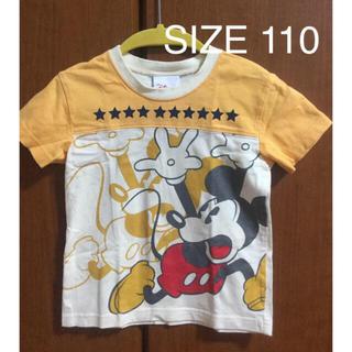ディズニー(Disney)の《中古品》ミッキー Tシャツ(110)(Tシャツ/カットソー)