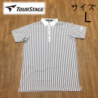 ツアーステージ(TOURSTAGE)の(L)TOURSTAGE ポロシャツ(ウエア)