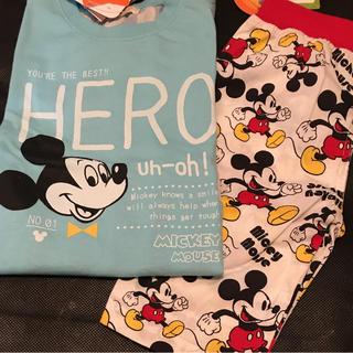 ディズニー(Disney)のミッキー セット(Tシャツ/カットソー)